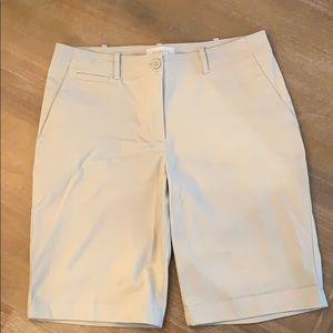 Women's Talbots Tan Shorts, Size 8